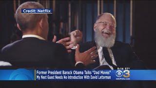 Former President Barack Obama Talks 'Dad Moves' On New Netflix Show