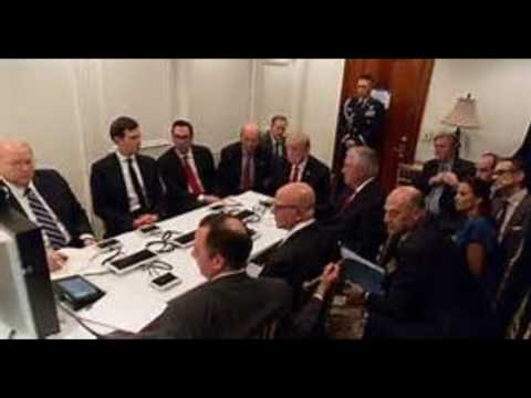 White House photo reveals inside view of Mar a Lago situation room