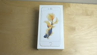 iPhone 6S Plus Gold - Unboxing