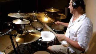Steve Tocco - Walk Between The Raindrops by Donald Fagen (Drum Cover)