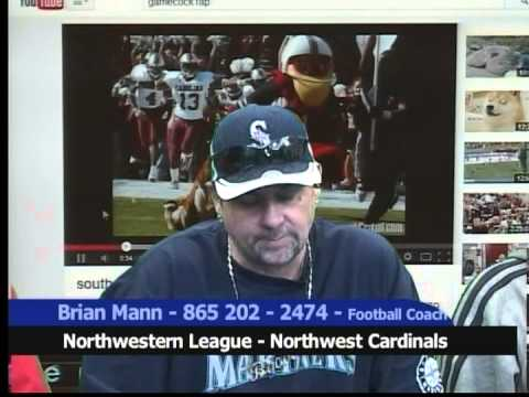Brian Mann NW Cardinals Football & 2nd Chance, Keith Dogherty, James Wlos, WillPWilson, AllDayLive,