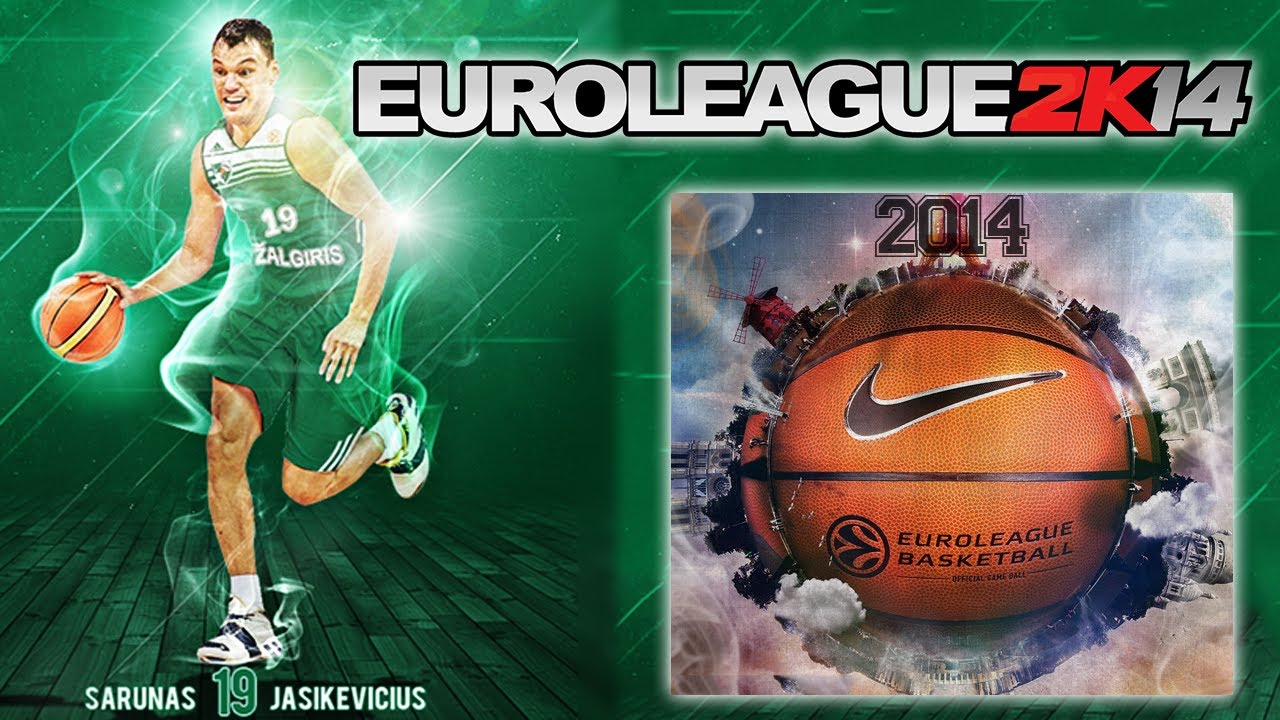 NBA 2K14 Euroleague Patch with Updated Rosters