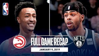 Full Game Recap: Hawks vs Nets | John Collins Puts Up Career High