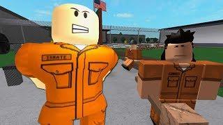 ON'ECHAPPE OF A PRISON! Roblox Prison Life