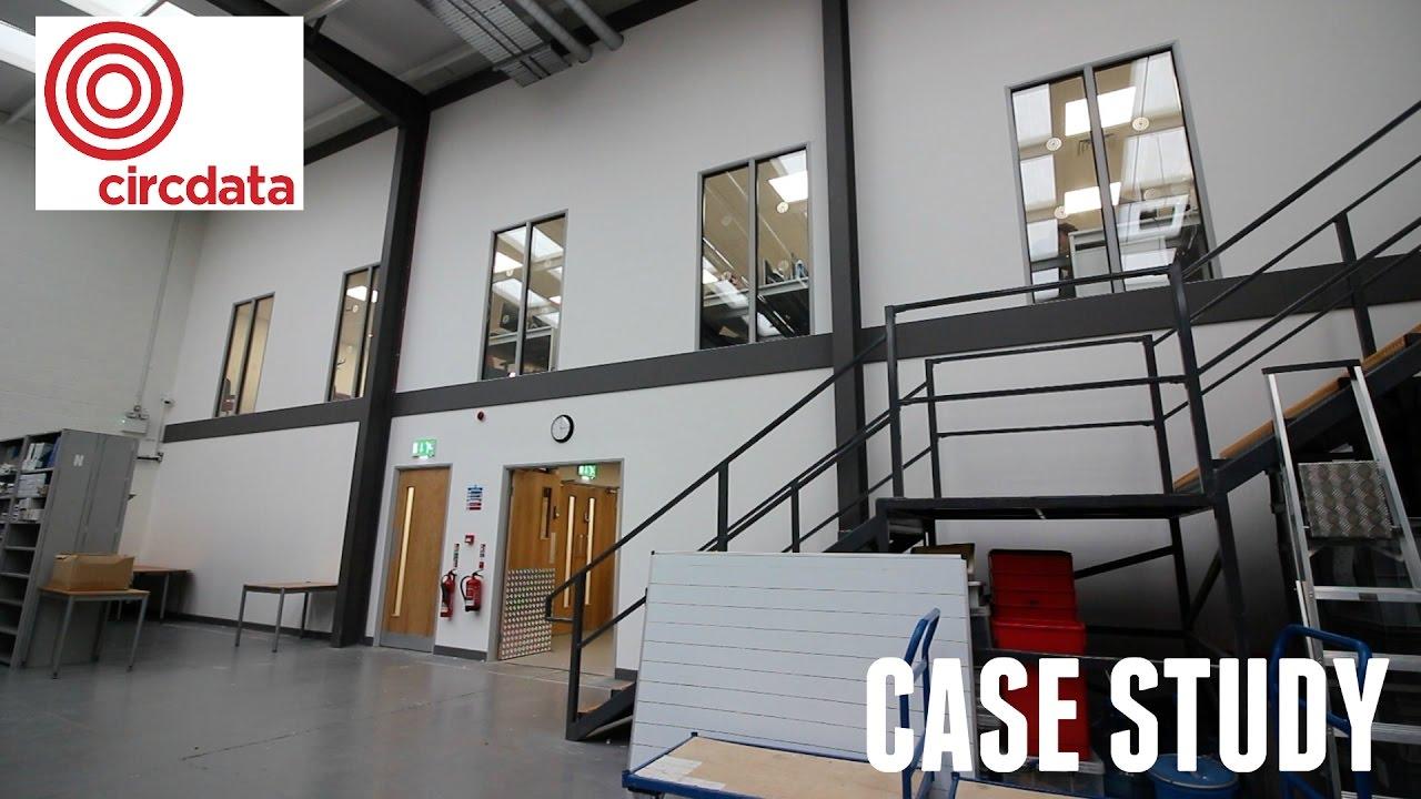Office Mezzanine Floor - Circdata Case Study - YouTube