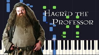 Synthesia - Hagrid the Professor (Harry Potter 3) [PIANO TUTORIAL + SHEET MUSIC]