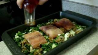Salmon And Spinach - Quick Recipe