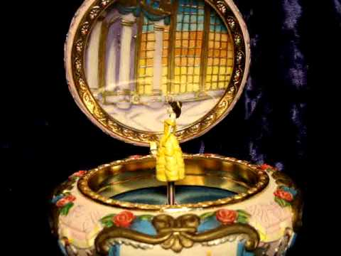 DISNEY BELLE SCULPTED MUSICAL JEWELRY Detail YouTube