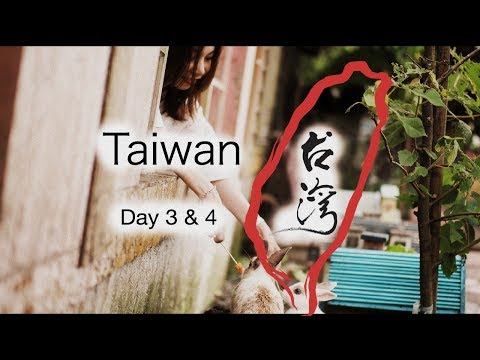 台湾 Taiwan Day 3 & 4 - Yehliu, Jiufen, Shifen, Yilan