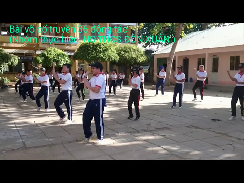 Bài võ cổ truyền 36 động tác
