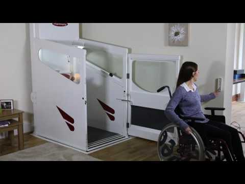 Harmony Through Floor Lift - Wheelchair Home Lift - Disabled Domestic Lift - Residential Lift