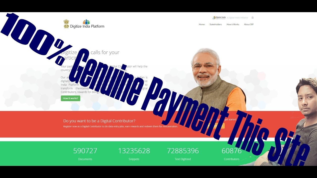 How To Earn Money Episode 100 Genuine Payment In Degitize India