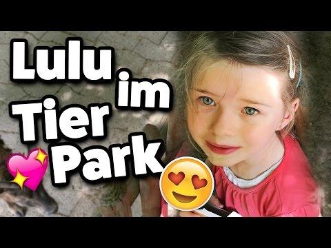 LULU IM TIERPARK 😍  Bären, Wölfe und pinkelnde Rehe 😂  mit Lulu & Leon - Family & Fun