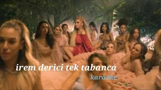 irem derici ve ceceli tektabanca karaoke - lyrica - sözleri - نيترين سترانا أيرم ديرجي بشيوي كاراوكي Video