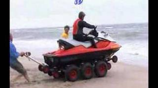 1 jettrax 1x6 launching your jetski in less than 30 sec
