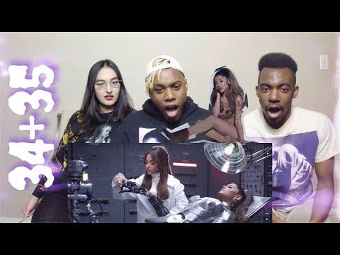 Ariana Grande - 34+35   MUSIC VIDEO REACTION