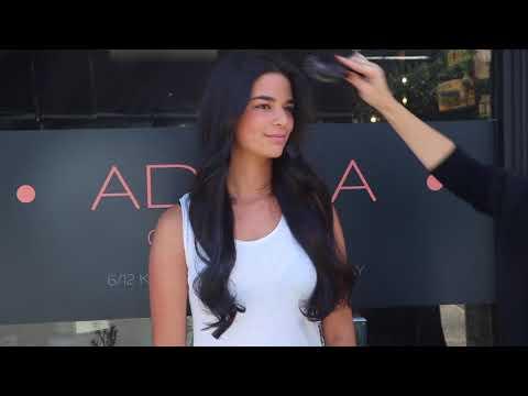 Hair Extensions Salon Experts - Transformation - ADILLA colab - Sydney