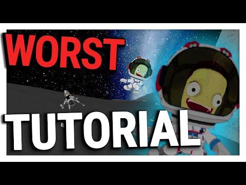 Worst Mün Landing Tutorial Ever! - Kerbal Space Program |