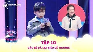 Biệt tài tí hon   tập 10: Cậu bé Đà Lạt siêu đáng yêu khiến Chi Pu, Mỹ Linh cũng phải mê mẩn