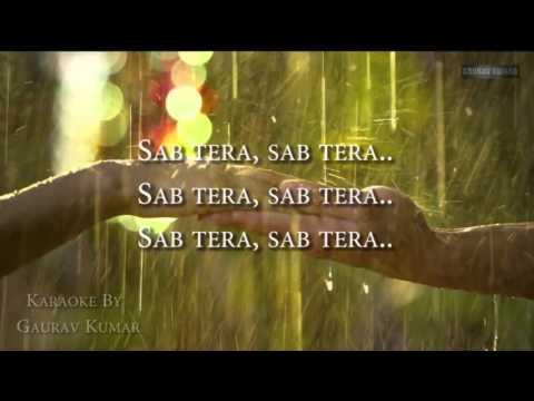 SAB TERA | BAAGHI | KARAOKE