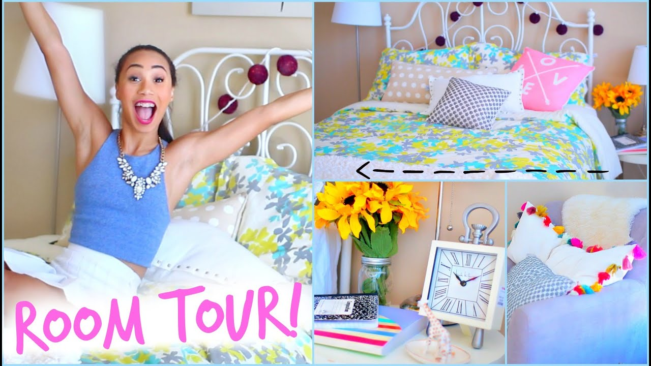 Room tour 2014 back to school room decor mylifeaseva youtube - Bedroom ideas for yr old girl ...