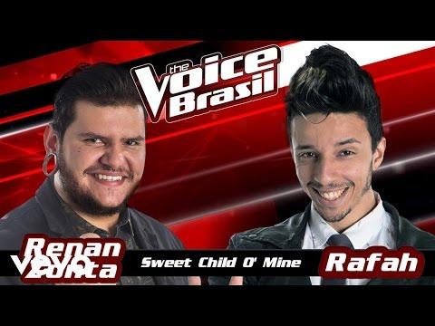 Renan Zonta, Rafah – Sweet Child O' Mine – The Voice Brasil 2016 (Batalhas 3) (Audio)