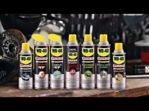 WD-40 Specialist Automotive Electronic Cleaner Spray - 290g