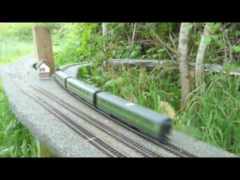 The Blackbury Garden Railway, Wales – Opening Day