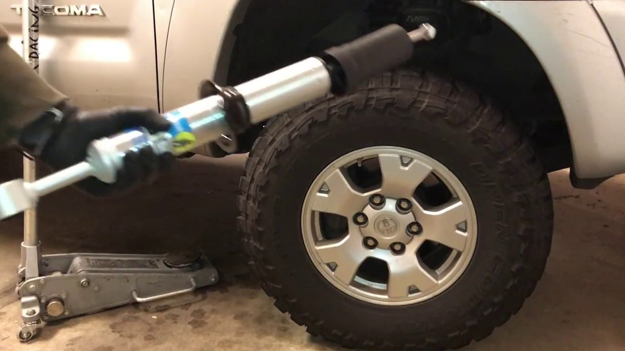 Tacoma Bilstein 5100 install front shock and replacement
