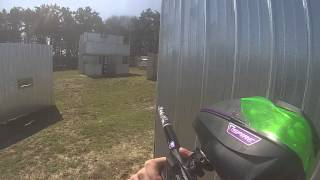 an introduction to paintball Crossfire maximum paintball emphasizes that it is a paintball game after being eliminated, opponents walk off the screen or back behind an obstacle this feature shows the separation from a war game to being a game of tag.