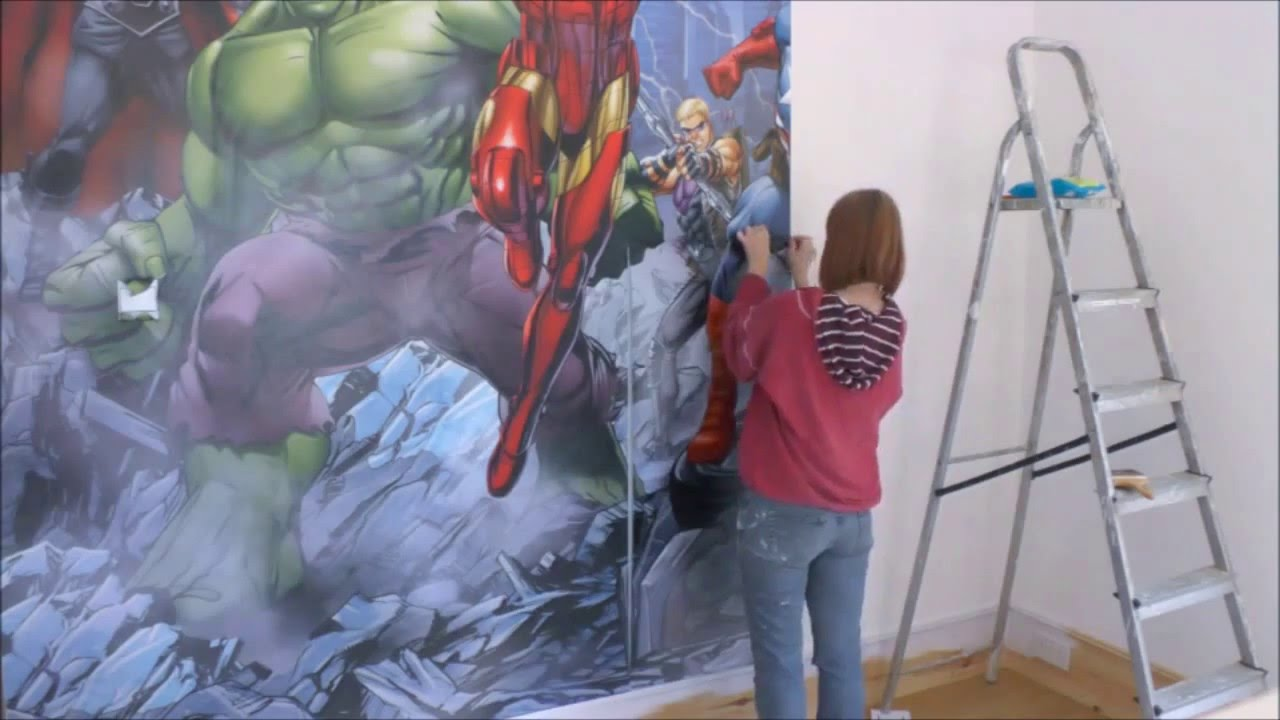 Dulux Kids Bedroom In A Box: Dulux Bedroom In A Box Avengers Assemble