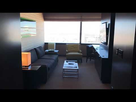 Vdara Las Vegas Studio Fountain View Suite Tour