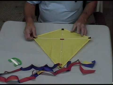 Dyna Kite How To Assemble Our 20 In Diamond Youtube
