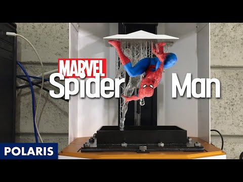 How to make resin figure? : The Spiderman in Marvel!