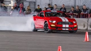 SHELBY GT350 Drift Compilation SEMA Ignited 2015