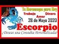 ESCORPIO Horóscopo de hoy 25 de septiembre 2020 - YouTube