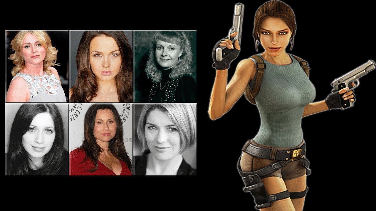 Characters Voice Comparison Lara Croft Youtube