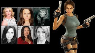 "Characters Voice Comparison - ""Lara Croft"""