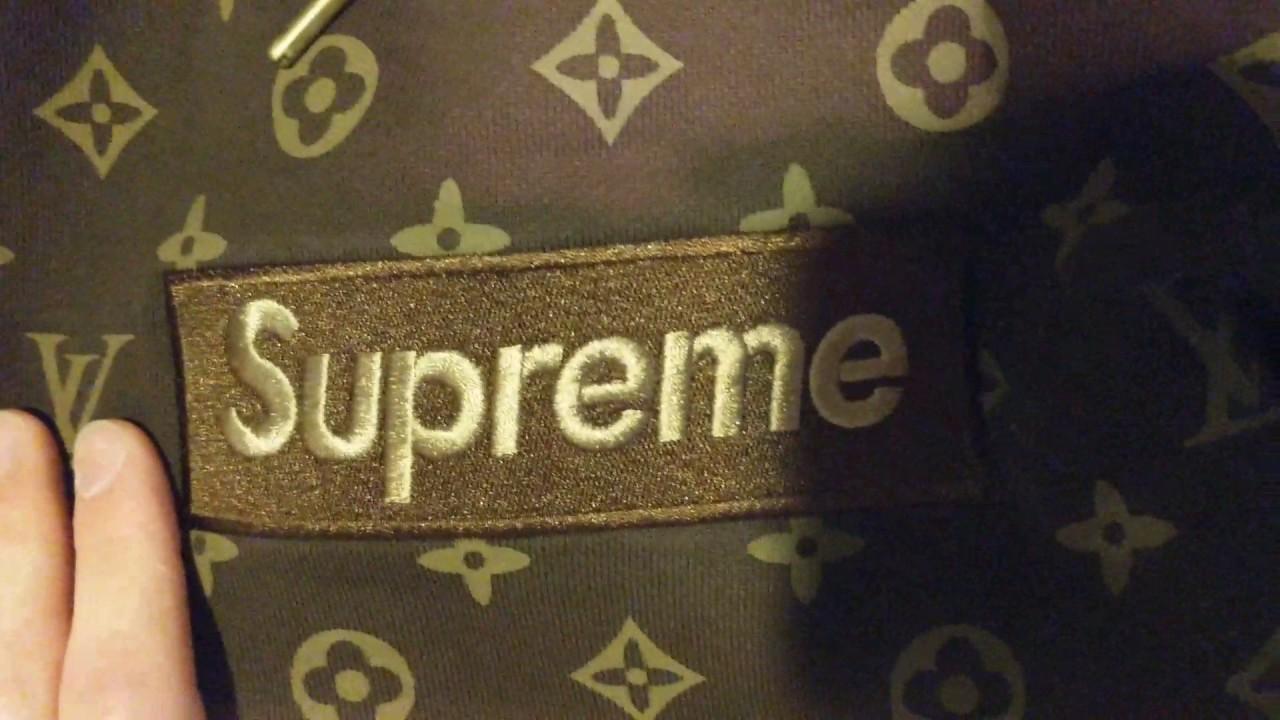 2777b293f405 Supreme x Louis Vuitton Box Logo Hoodie Review (UNHS) - YouTube