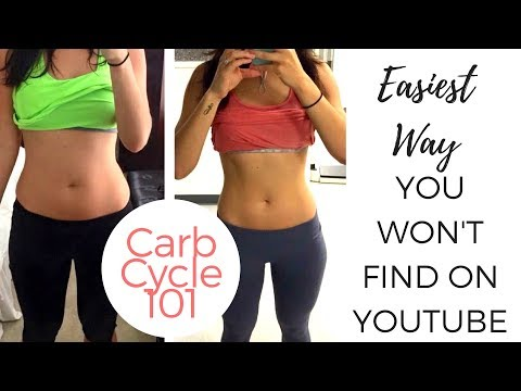 Carb cycling 101; easiest but impactful way