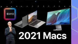"When to expect the next Macs: M1X iMac, redesigned 14"" MacBook Pro and more!"