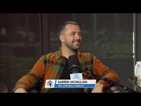 "Darren McMullen Host of USA Network's ""NFL Football Fanatic"