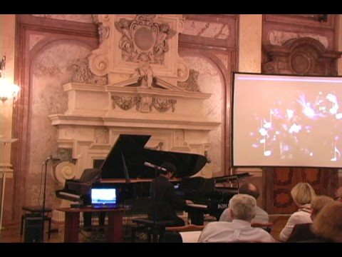 Hugh Sung demonstrates Pianoteq in Prague