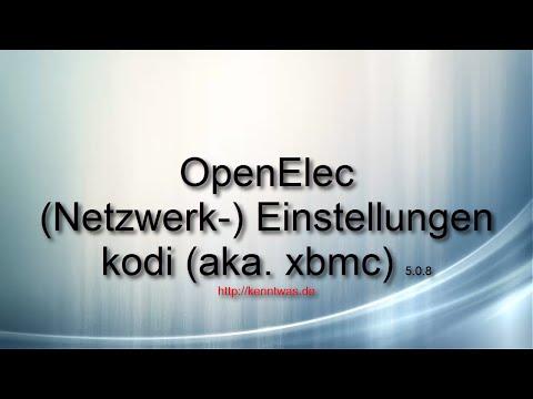openelec installieren anleitung deutsch