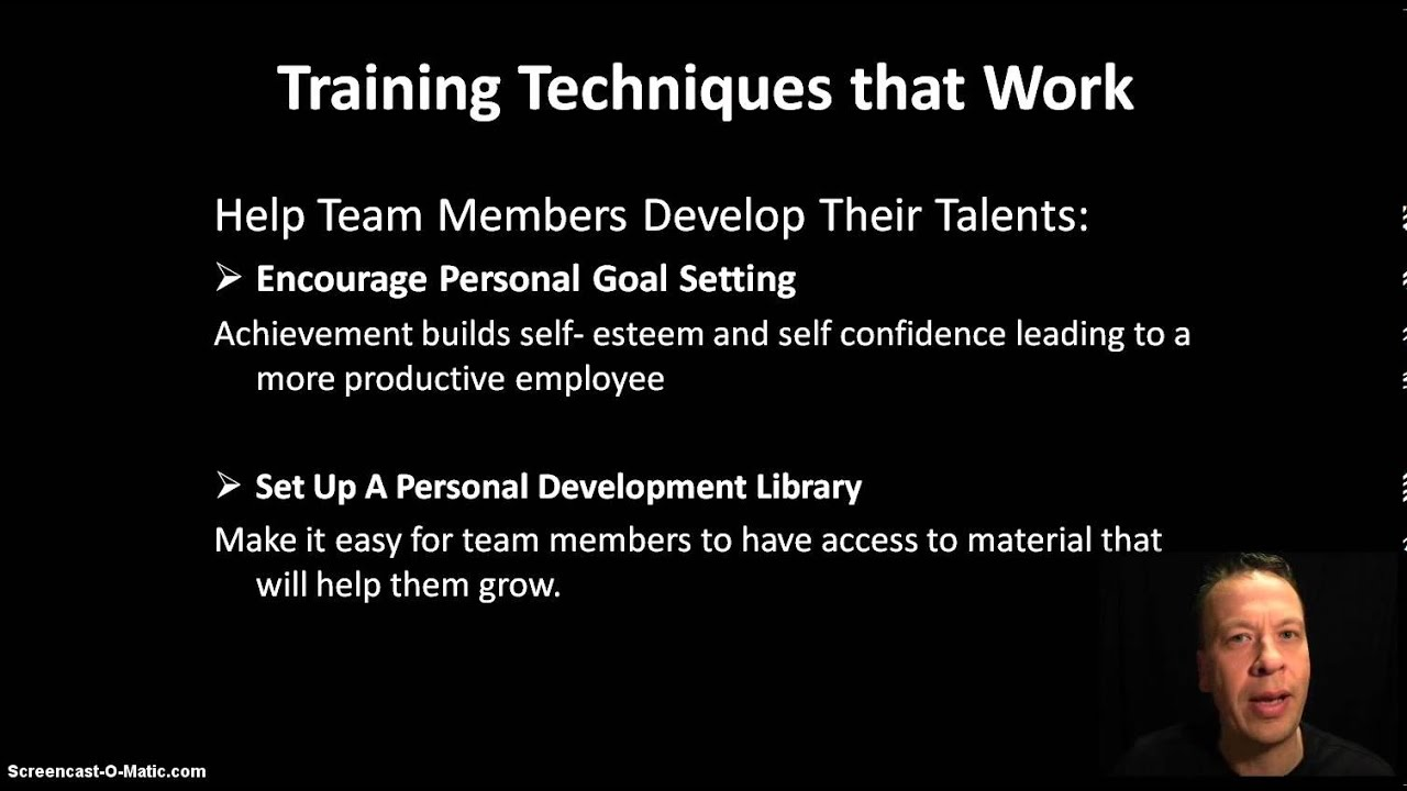 supervisor manager training