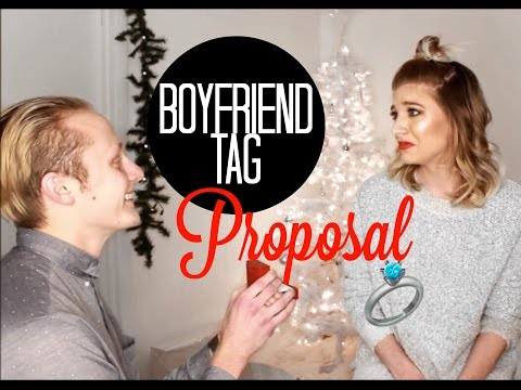 BOYFRIEND TAG TURNED PROPOSAL!?💍❤️