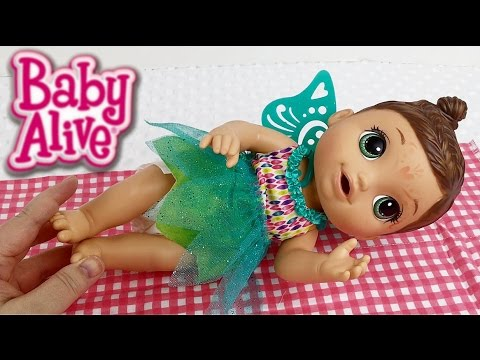Baby Alive Face Paint Fairy Doll Feeding Vlog Youtube