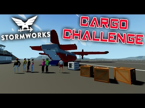 Transport People and Cargo to the Arctic  -  Challenge  -  Stormworks: Build and Rescue