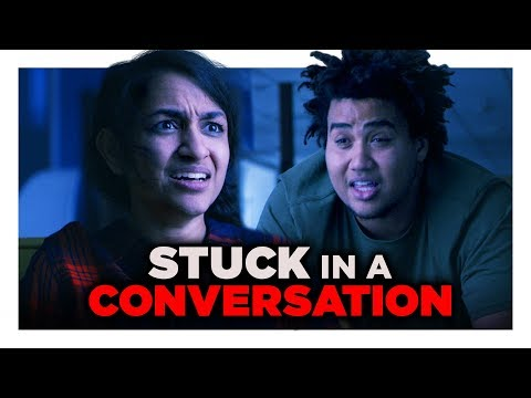 Download Youtube: When You Get Stuck in a Conversation | Hardly Working