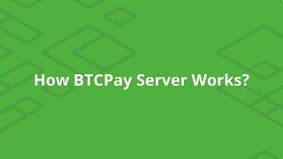 BTCPay Server  - How it Works?